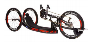 Handcycle rack for Bridge2Sports